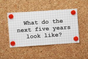 the next five years question