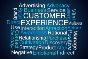 customer experience word cloud