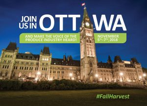 CPMA and CHC's Fall Harvest on Parliament Hill