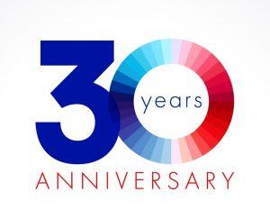 30 year anniversary graphic