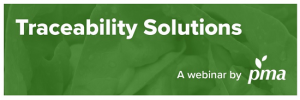 traceability solutions webinar hosted by PMA